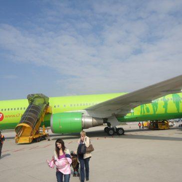 Самолет Италия Томск