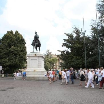Города Италии. Верона. Эммануил II. Памятник Виктору Эммануилу II